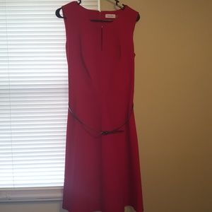 Size 12 Sleeveless Dress by Calvin Klein